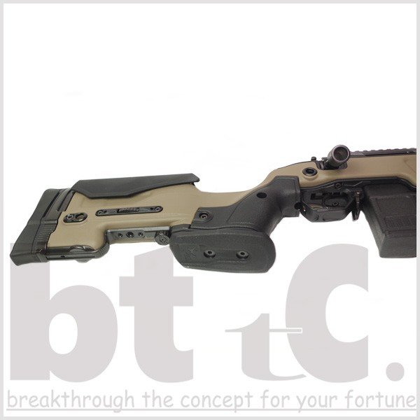 エアガン サバイバルゲーム ActionArmy AAC T10(tactical10) エアーコッキングライフル FDE ミリタリー|bttc|08