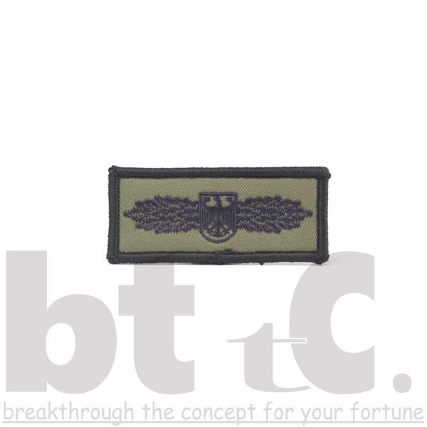 刺繍パッチ日本製 2枚セットワッペン GSG9徽章 きしょう カーキ bttcオリジナル メール便送料無料|bttc