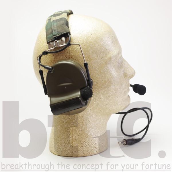 Z-Tactical Z041 ComtacIIタクティカルヘッドセット FG|bttc|03