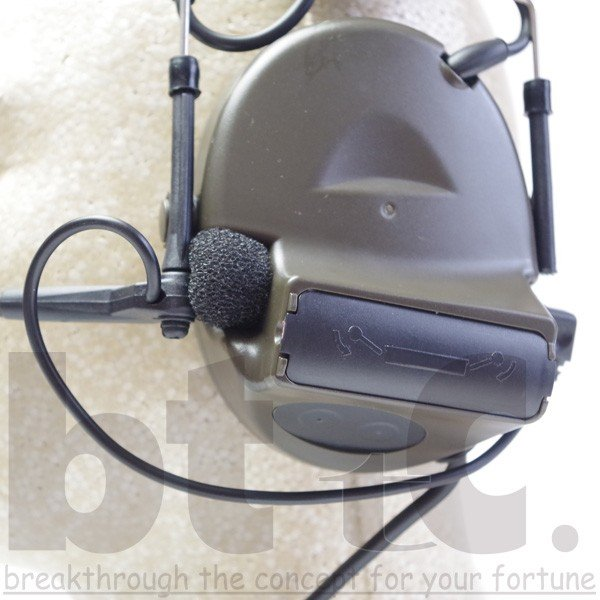 Z-Tactical Z041 ComtacIIタクティカルヘッドセット FG|bttc|06