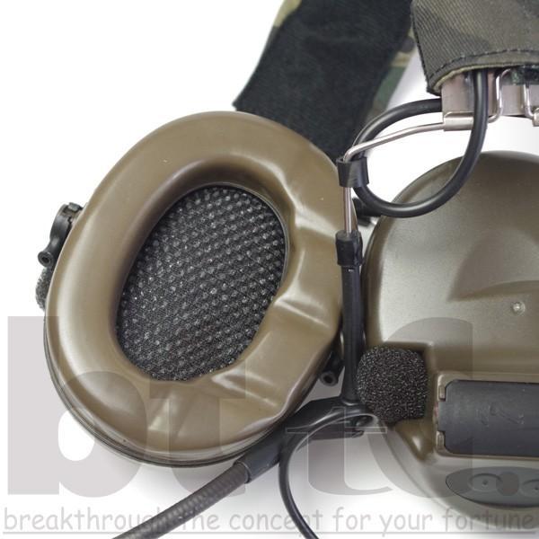 Z-Tactical Z041 ComtacIIタクティカルヘッドセット FG|bttc|08