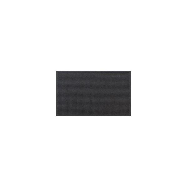 クリーンテックス・ジャパン 玄関マット ウォーターホースT W146×D88 ダークグレー 1枚 〔業務用〕