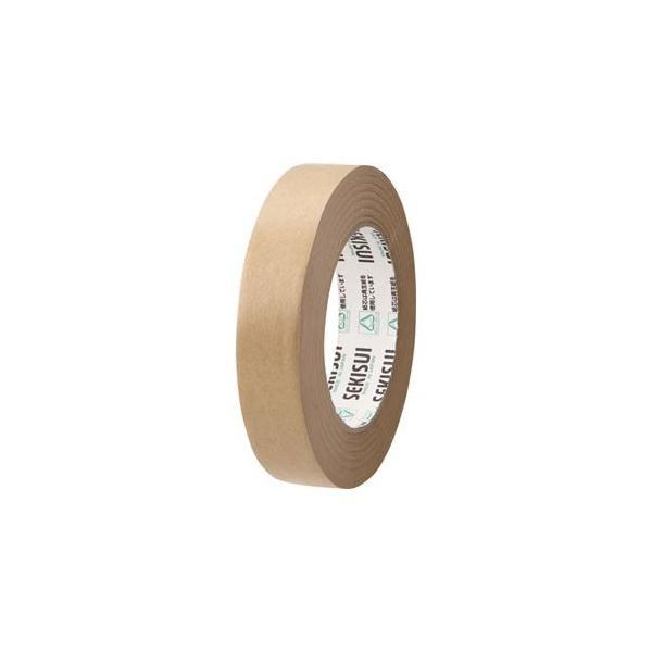 (まとめ) 積水化学 クラフトテープ 25mm×50m K51X11 1巻 〔×50セット〕