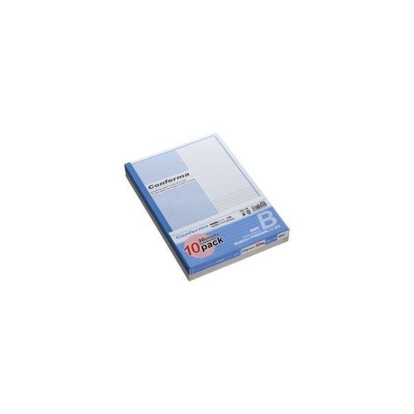 (業務用セット) アピカ ノート(セミB5) 10冊入 B罫(6mm) RB3X10N 1パック(30枚×10冊) 〔×10セット〕