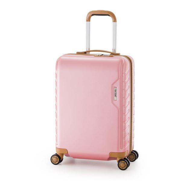 スーツケース/キャリーバッグ 〔ピンク〕 71L ダイヤル式 TSAロック アジア・ラゲージ 『MAX SMART』