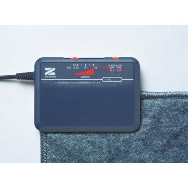 電磁波カット ホットカーペット/電気カーペット 〔3畳用本体のみ〕 ダニ対策 切り忘れ防止タイマー 暖房面切替 1/2電力運転機能