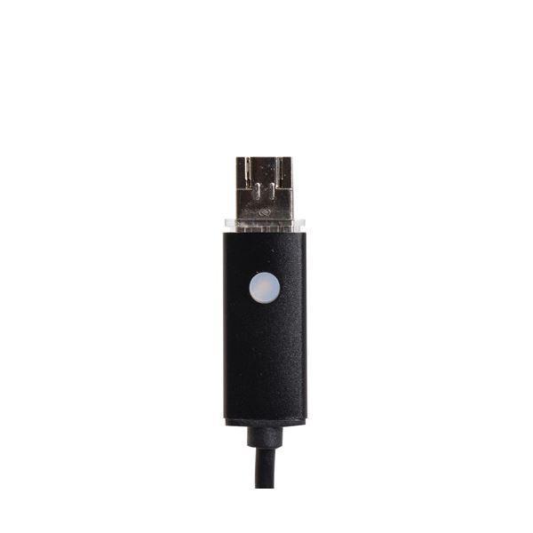 サンコー Android/PC両対応8mm径内視鏡ケーブル 5m 形状記憶タイプ MCAD8NW5