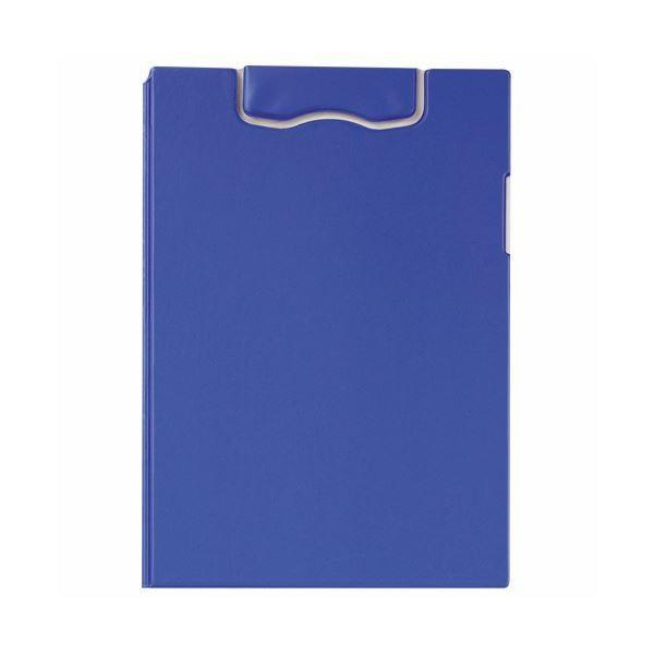 (まとめ)ライオン事務器マグネットホルダー(レオグリップ) 2つ折り式 A4タテ ブルー No.300MG 1枚 〔×3セット〕