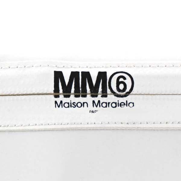 MM6 MAISON MARGIELA(エムエム 6 メゾン マルジェラ) ポーチ S54WF0031 961 WHITE