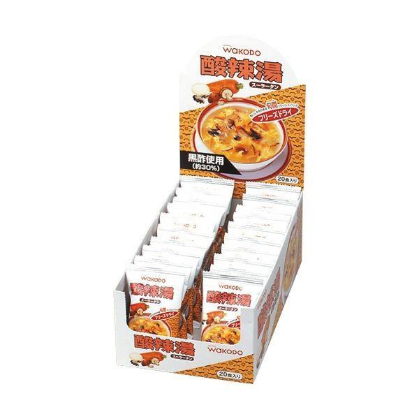 (まとめ)アサヒグループ食品 WAKODO酸辣湯(スーラータン)9g 1箱(20食)〔×2セット〕