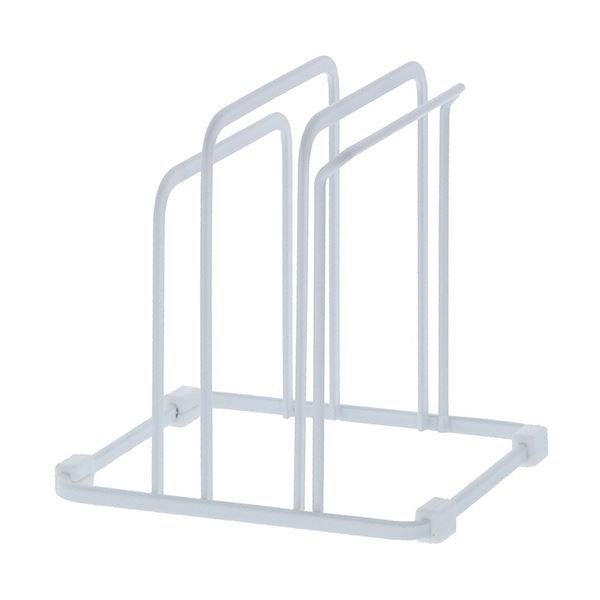 (まとめ)高儀 まな板スタンドトリプル ホワイトシートまな板対応 1個〔×10セット〕