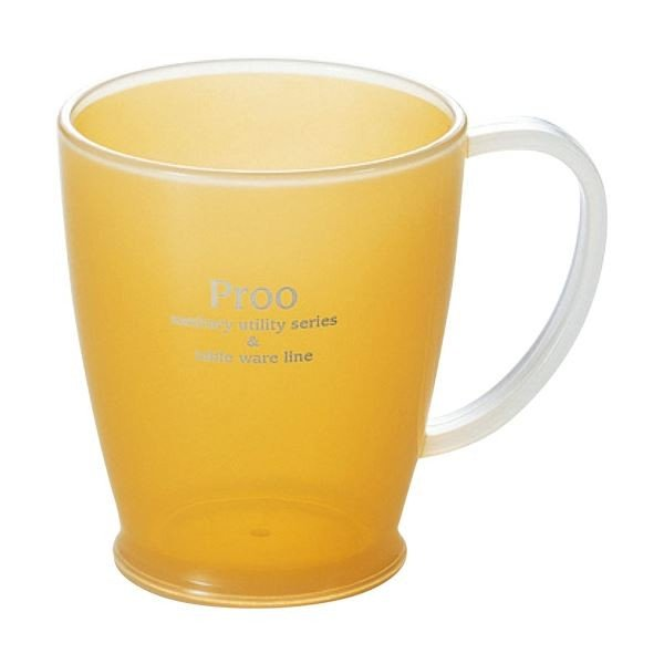 (まとめ)タケヤ化学工業 プルー ツインコップ クリアーオレンジ 1個〔×20セット〕