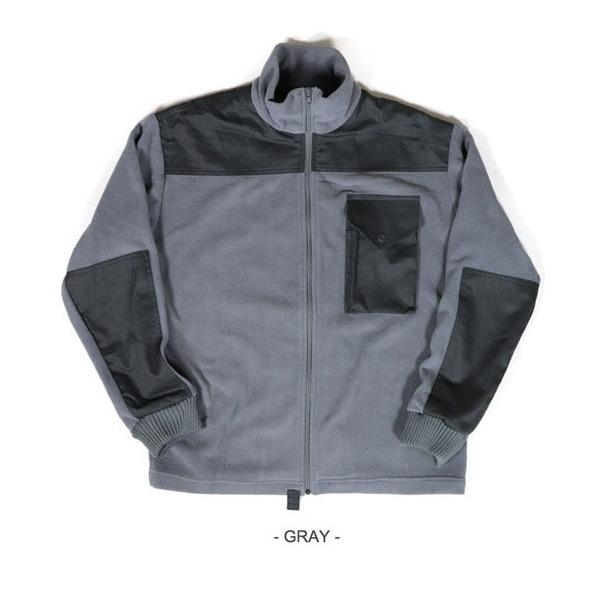 カナダ軍IECS(改良型環境服装システム)フリースジャケットレプリカ グレー XL