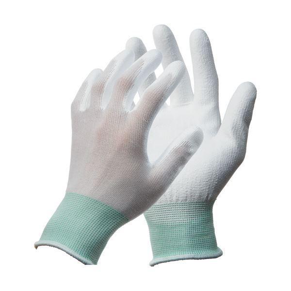 (まとめ)川西工業 ポリウレタン背抜き手袋 M 1パック(10双) 〔×3セット〕