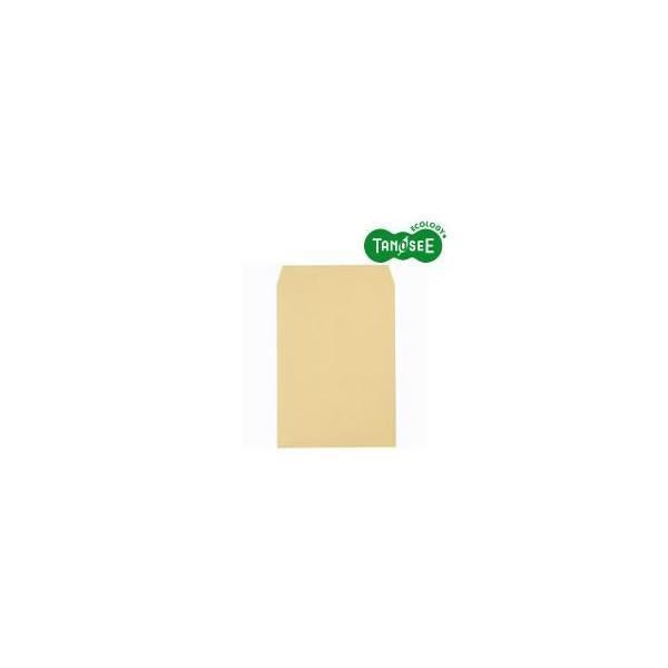 TANOSEE R40クラフト封筒 角2 85g/m2 業務用パック 1箱(500枚)