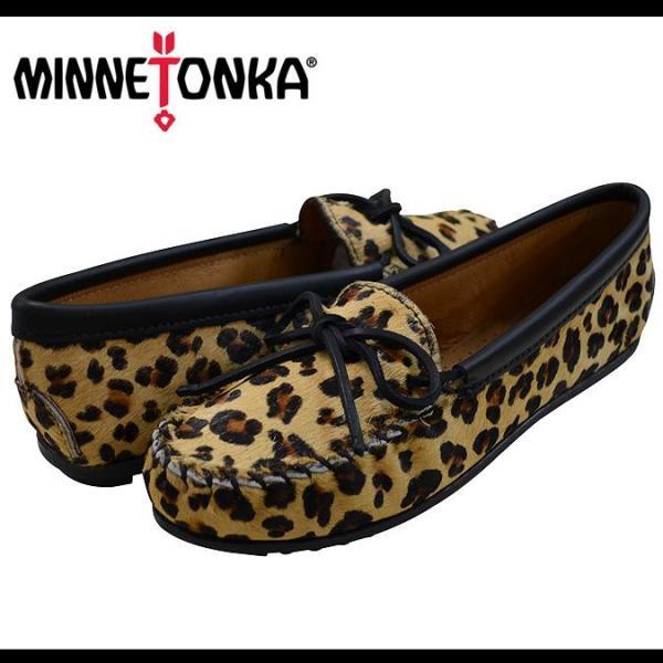 【送料無料/正規品】ミネトンカ MINNETONKA Full Leopard Moc フルレオパードモカシン レオパード モカシン パンプス