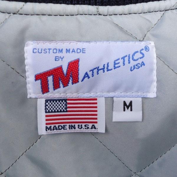 スタジャン アワードジャケット ボタンにキズ有り!B品特価! BUDDY 別注 バディ TM ATHLETICS アメカジ フルデコ ティーエムアスレチックス 定価¥149.040-|buddy-us-clothing|05