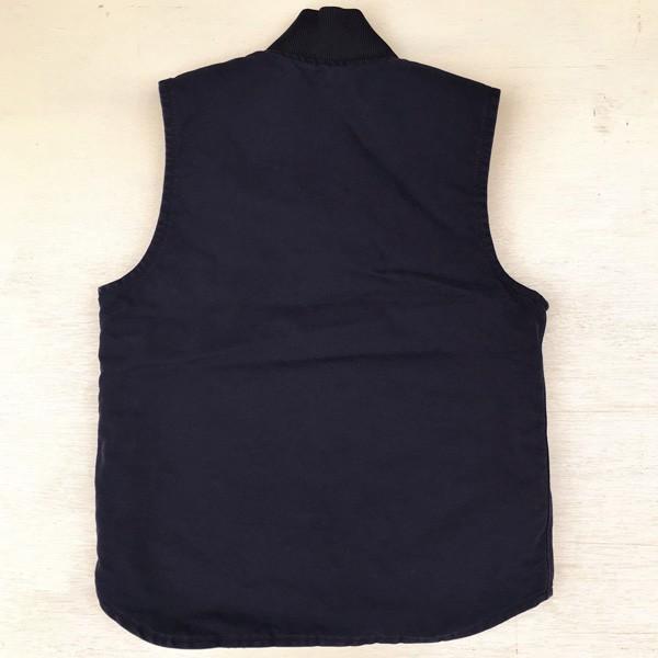 カーハート サンドストーン ベスト ミッドナイト ネイビー Carhartt V02 Sandstone Vest Quilt-Lined V02MDT アメカジ|buddy-us-clothing|06