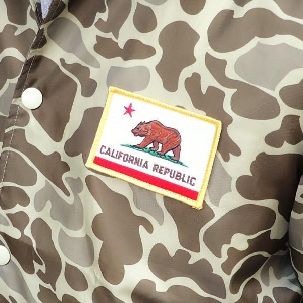 コーチジャケット カリフォルニア ライトニング CALIFORNIA LIGHTNING ダックハンターカモ リフレクター シート ウィンドブレーカー USA|buddy-us-clothing|03