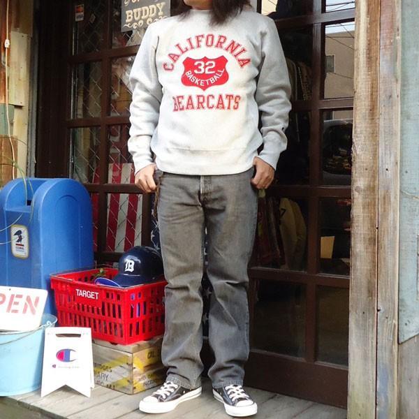 チャンピオン Champion BUDDY 別注 リバースウィーブ クルースエット(BEARCATS) トレーナー 丸首 アメカジ|buddy-us-clothing|05