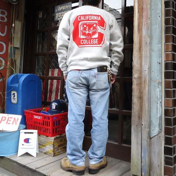 チャンピオン Champion BUDDY 別注 リバースウィーブ クルースエット(BEARCATS) トレーナー 丸首 アメカジ|buddy-us-clothing|06