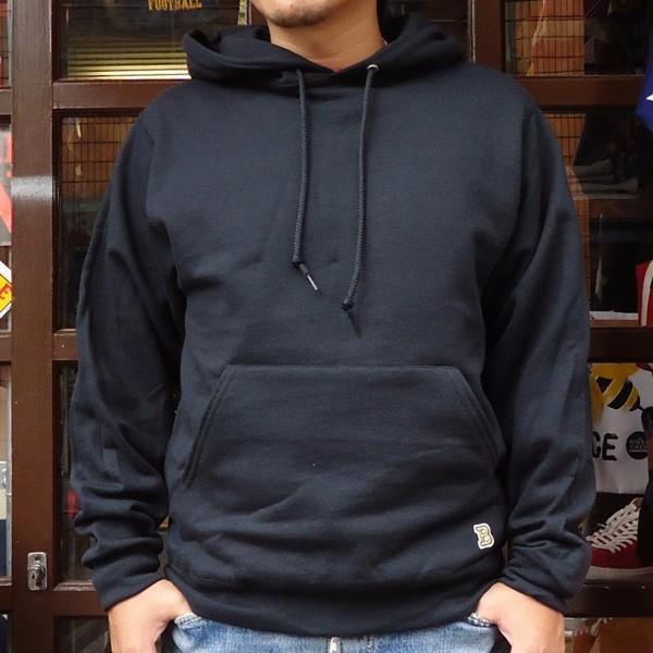 ラッセル ジャージーズバディ BUDDY×JERZEES プルオーバーパーカー ホワイト・ブラック・グレー・ネイビー RUSSELL メンズ アメカジ|buddy-us-clothing|04