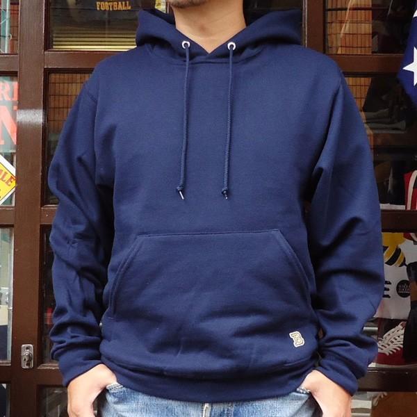 ラッセル ジャージーズバディ BUDDY×JERZEES プルオーバーパーカー ホワイト・ブラック・グレー・ネイビー RUSSELL メンズ アメカジ|buddy-us-clothing|06