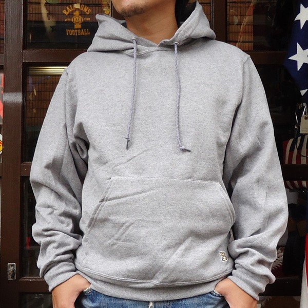 ラッセル ジャージーズバディ BUDDY×JERZEES プルオーバーパーカー ホワイト・ブラック・グレー・ネイビー RUSSELL メンズ アメカジ|buddy-us-clothing|08
