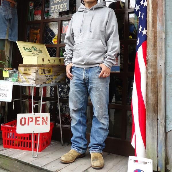 ラッセル ジャージーズバディ BUDDY×JERZEES プルオーバーパーカー ホワイト・ブラック・グレー・ネイビー RUSSELL メンズ アメカジ|buddy-us-clothing|09