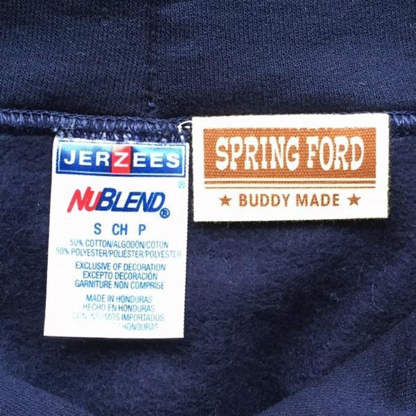 ラッセル ジャージーズバディ BUDDY×JERZEES プルオーバーパーカー ホワイト・ブラック・グレー・ネイビー RUSSELL メンズ アメカジ|buddy-us-clothing|10