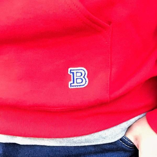 ラッセル ジャージーズ プルオーバーパーカー バディ BUDDY×JERZEES 赤 RED RUSSELL メンズ アメカジ|buddy-us-clothing|03