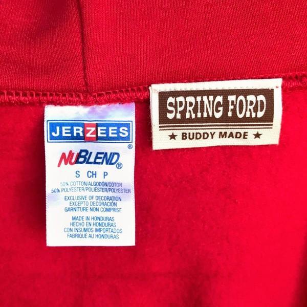 ラッセル ジャージーズ プルオーバーパーカー バディ BUDDY×JERZEES 赤 RED RUSSELL メンズ アメカジ|buddy-us-clothing|04