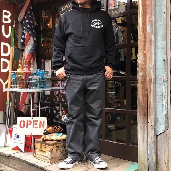 ラッセル ジャージーズ プルオーバーパーカー バディ BUDDY×JERZEES CALIFORNIA MOTORCYCLE  RUSSELL メンズ アメカジ カリフォルニア モーターサイクル|buddy-us-clothing|05