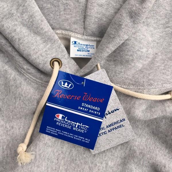 チャンピオン Champion リバースウィーブ 青タグ プルオーバースウェットパーカー 11.5oz 18FW C3-W102 裏起毛 アメカジ|buddy-us-clothing|04