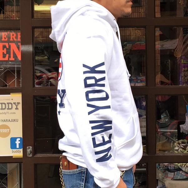 ラッセル ジャージーズ プルオーバーパーカー BUDDY×JERZEES Indian Statue of Liberty RUSSELL アメカジ NEW YORK ニューヨーク 自由の女神 インディアン|buddy-us-clothing|04