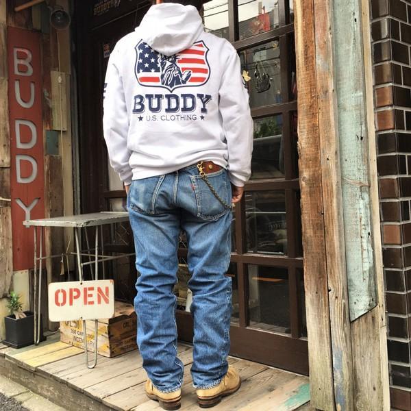 ラッセル ジャージーズ プルオーバーパーカー BUDDY×JERZEES Indian Statue of Liberty RUSSELL アメカジ NEW YORK ニューヨーク 自由の女神 インディアン|buddy-us-clothing|08