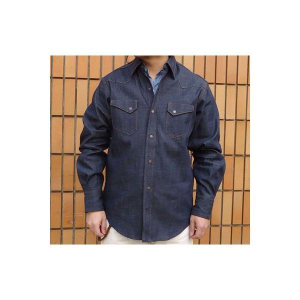 デニムウェスタンシャツ BUDDY オリジナル SPRINGFORD アメカジ メンズ 長袖 ワークシャツ DENIM WESTERN SHIRTS|buddy-us-clothing