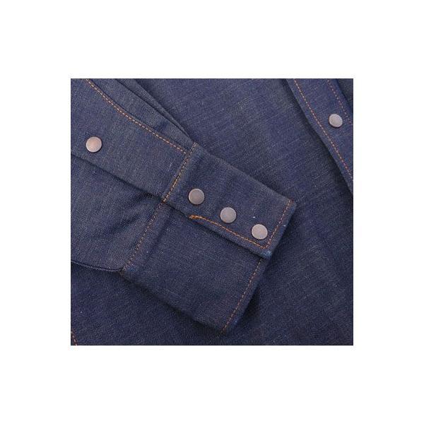 デニムウェスタンシャツ BUDDY オリジナル SPRINGFORD アメカジ メンズ 長袖 ワークシャツ DENIM WESTERN SHIRTS|buddy-us-clothing|05