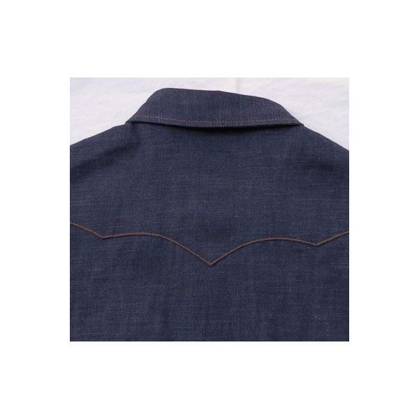 デニムウェスタンシャツ BUDDY オリジナル SPRINGFORD アメカジ メンズ 長袖 ワークシャツ DENIM WESTERN SHIRTS|buddy-us-clothing|06