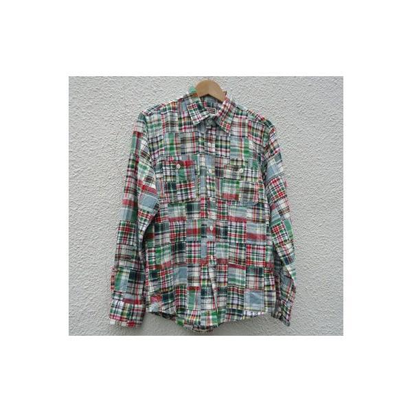 パッチワークシャツ BUDDY オリジナル SPRINGFORD アメカジ メンズ 長袖 PATCH WORK SHIRTS|buddy-us-clothing|05