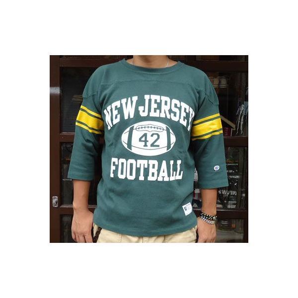 BUDDY 別注 Champion フットボールシャツ NEW JERSEY #42|buddy-us-clothing