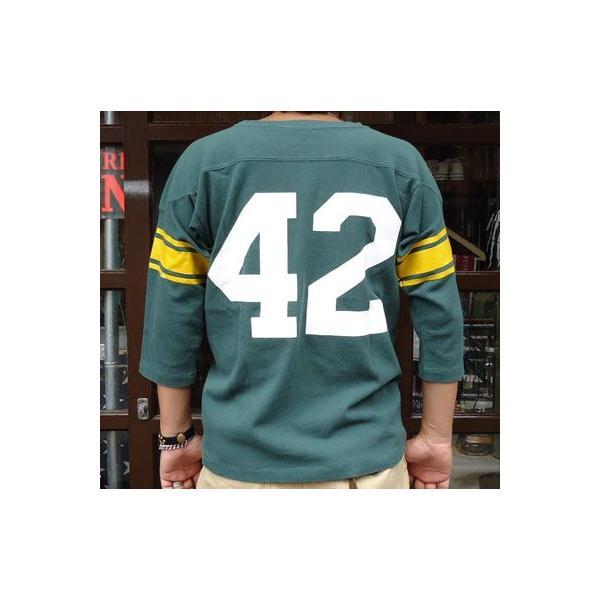 BUDDY 別注 Champion フットボールシャツ NEW JERSEY #42|buddy-us-clothing|02