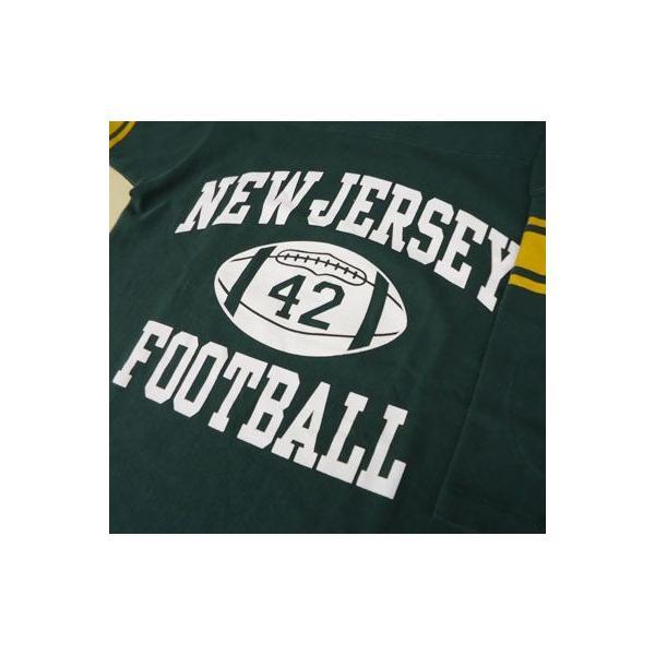 BUDDY 別注 Champion フットボールシャツ NEW JERSEY #42|buddy-us-clothing|04