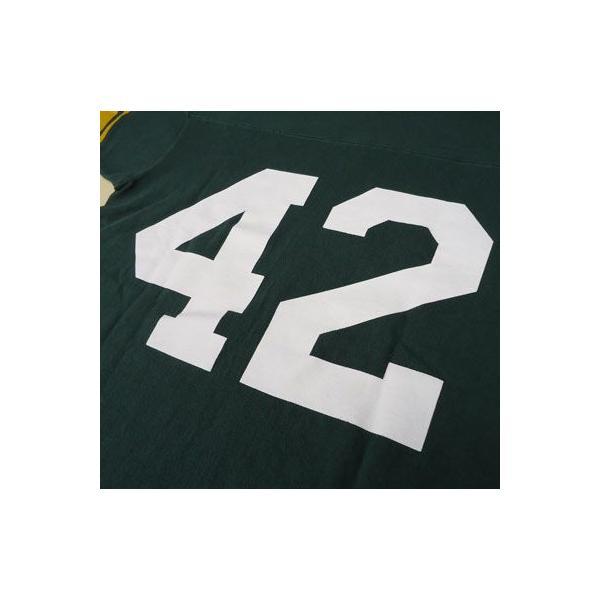 BUDDY 別注 Champion フットボールシャツ NEW JERSEY #42|buddy-us-clothing|05