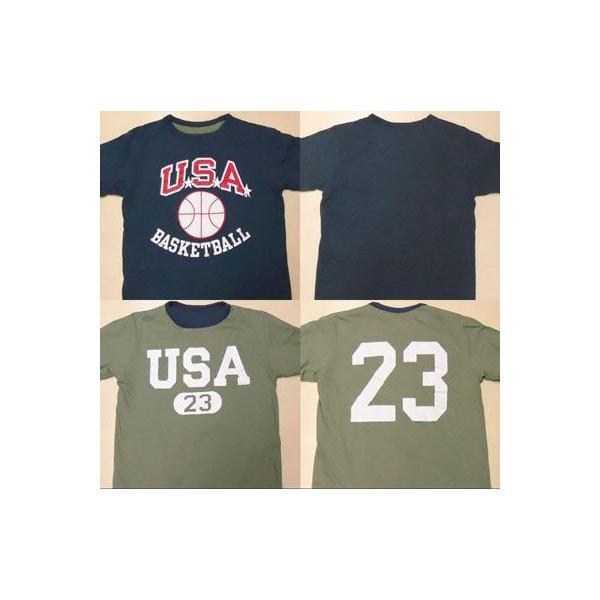 BUDDY別注 Champion リバーシブルTシャツ (USA BASKETBALL)|buddy-us-clothing|02
