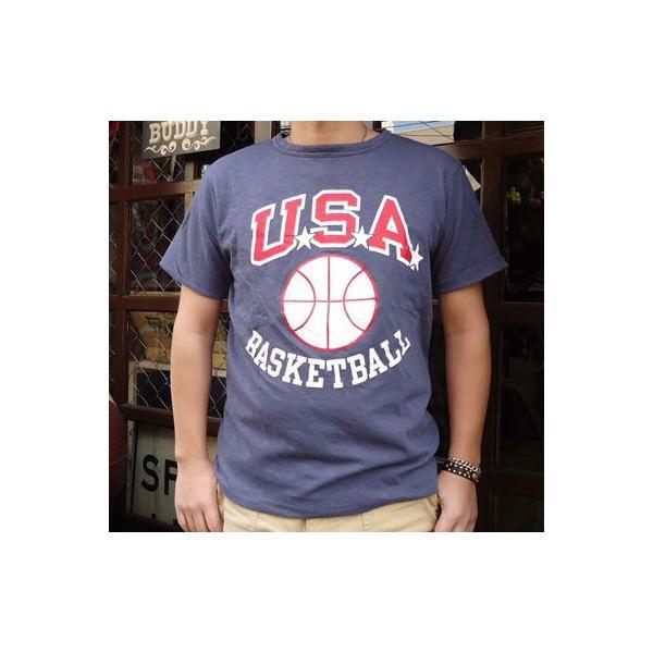 BUDDY別注 Champion リバーシブルTシャツ (USA BASKETBALL)|buddy-us-clothing|03