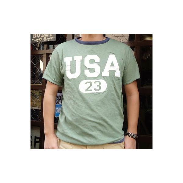 BUDDY別注 Champion リバーシブルTシャツ (USA BASKETBALL)|buddy-us-clothing|05