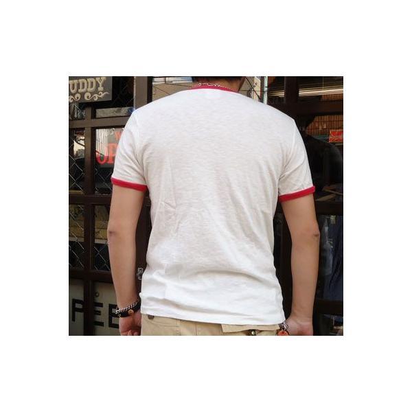 BUDDY別注 Champion リンガーTシャツ (TRACKCLUB)|buddy-us-clothing|02