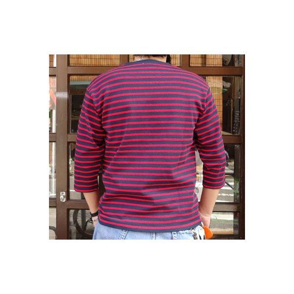 ★SPRINGFORD★BUDDY オリジナル 3/4スリーブ ボーダーTシャツ アメカジ 七分袖|buddy-us-clothing|02