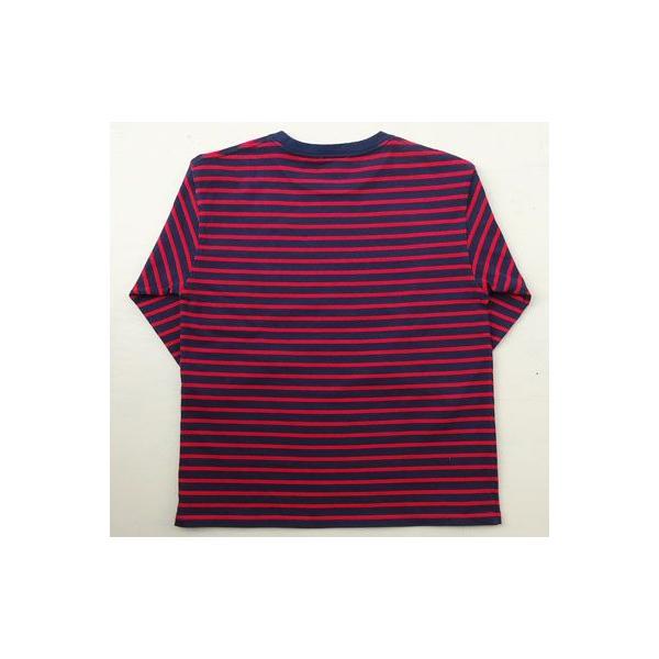 ★SPRINGFORD★BUDDY オリジナル 3/4スリーブ ボーダーTシャツ アメカジ 七分袖|buddy-us-clothing|04
